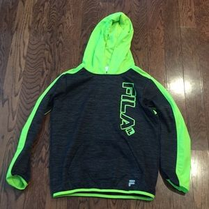 Boys fila hoodie